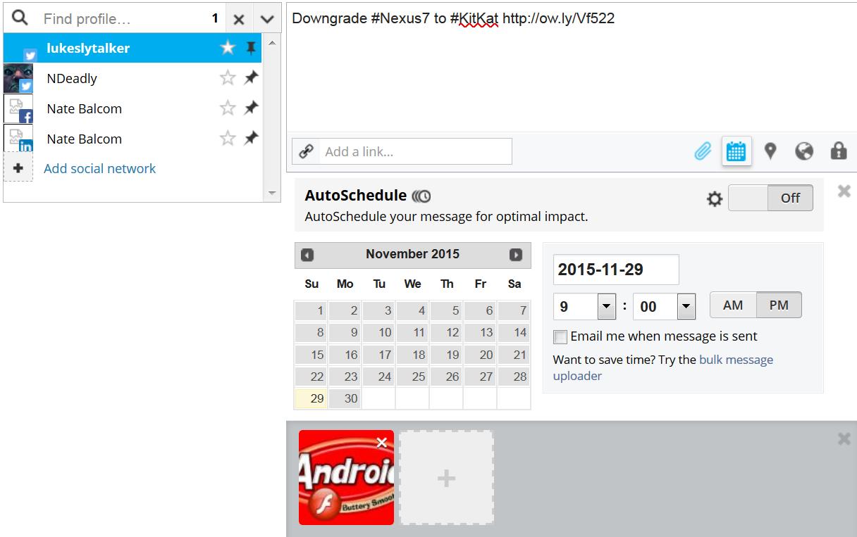HootSuite-schedule